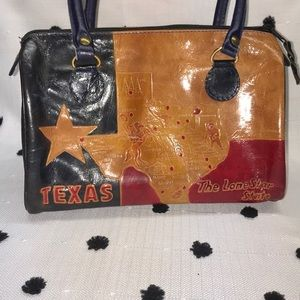 Vintage Capezio Texas Purse